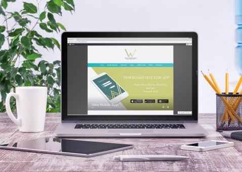 Weatherhead Bank Website Mockup