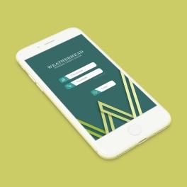 Weatherhead Bank App Concept