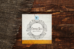 Curvy Chic Boutique Clothing Tag Concept
