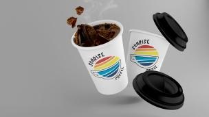 Sunrise Coffee Logo Concept