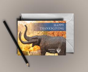 IPFW-Advancement Thanksgiving Card