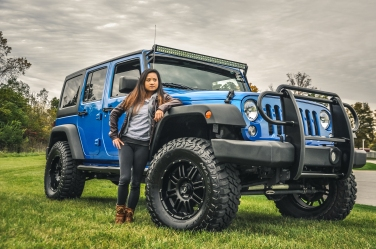Jeep Photo Shoot Model