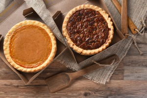 pumkin-and-pecan-pie