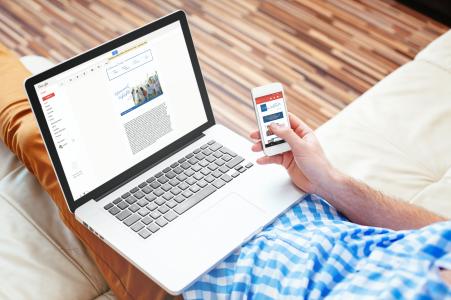 Advacement-Newsletter-Concept