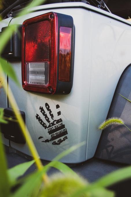Fort Wayne Jeep Wranglers Sticker